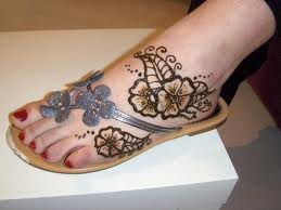Henna Designs On Feet
