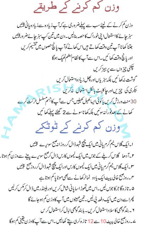 Simple Diet Plan To Lose Weight Fast In Urdu | Week Diet Plans