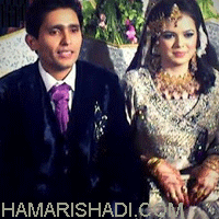 Wedding pics of Adnan Akmal