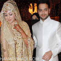 Wedding pics of Ayesha takiya