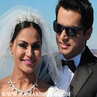 Veena Malik marriage pics