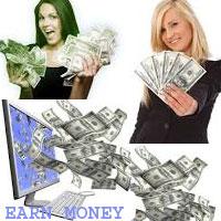 Earn money online through website
