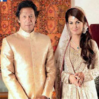 Imran khan wedding shadi Reham pictures