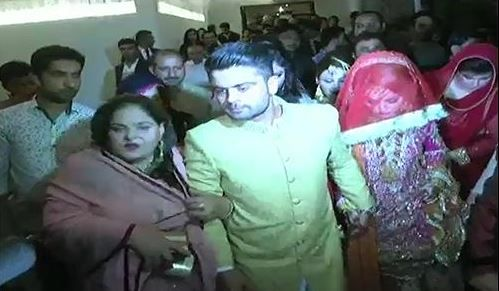Ahmad shazad wedding